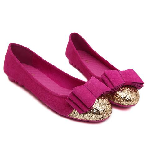 matric dresses with flat shoes and hair styles siketu round toe bowknot genuine leather pull on flat shoes