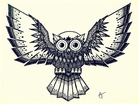 doodle owls owl doodle by parallel echo on deviantart