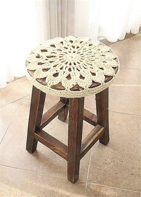 Stool Covers by Best 25 Stool Cover Crochet Ideas On Stool Covers Bar Stool Covers And Diy
