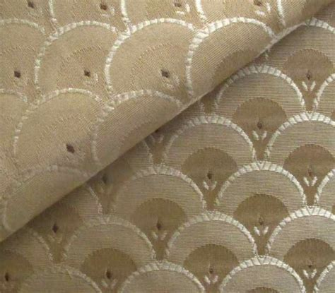 upholstery fabric art deco clarice art deco style fabric shell pattern fabric