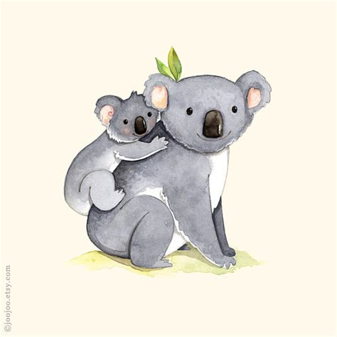 Other Words For Home Decor Koala Illustration On Pinterest
