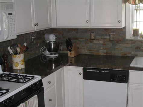 new formica countertops and backsplash