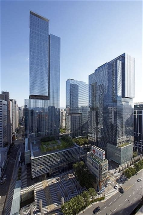 samsung c t corporation hq 摩天大楼中心
