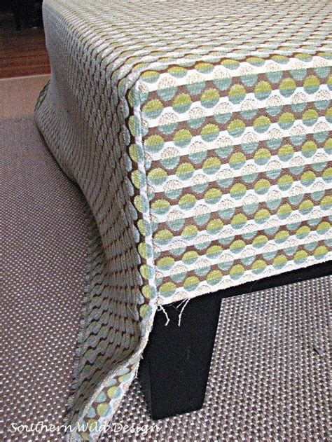how to reupholster an ottoman 25 unique ottoman slipcover ideas on ottoman