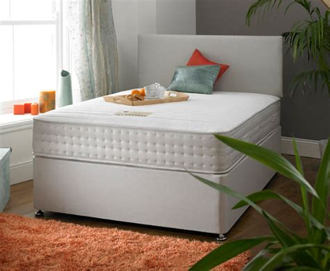 shire beds shire beds active duel seasons ortho 5ft kingsize divan bed