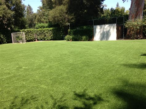 backyard turf artificial grass installation fresno texas football field