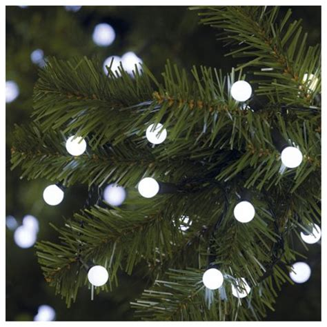 buy tesco 100 led white berry lights from our all