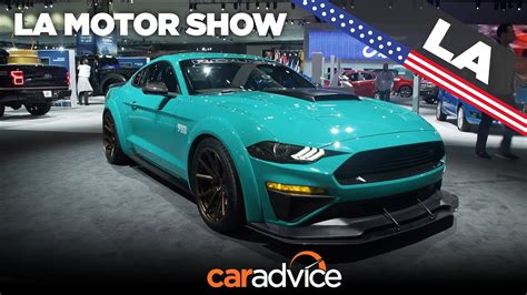 Mustang La Auto Show by 2018 Ford Mustang Roush 729 La Auto Show Youtube