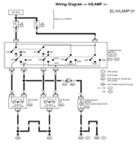 1998 nissan patrol y61 electrical wiring diagram service