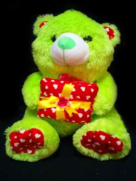 Boneka Teddy Warna Boneka Teddy Hijau Aksesoris Bantal Kado Jual