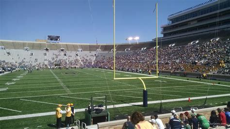 section 20 a notre dame stadium section 20 rateyourseats com