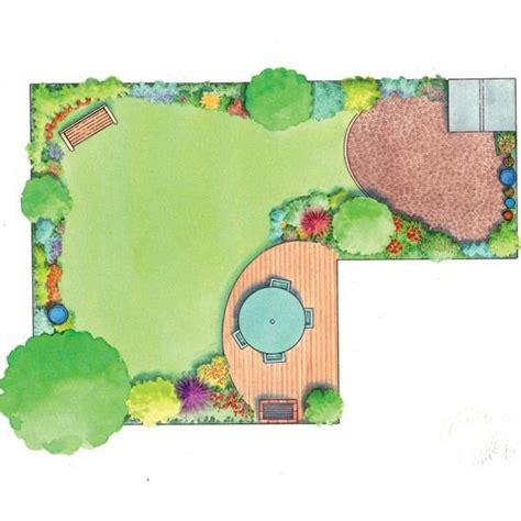 L Shaped Garden Design Ideas L Shaped Garden Design Idea Gardening