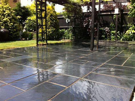 Gray Bathroom Ideas fairstone slate natural garden paving marshalls co uk