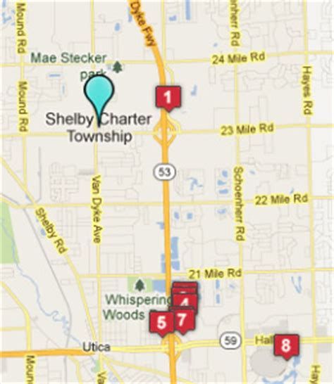 shelby township mi map shelby township mi hotels motels see all discounts