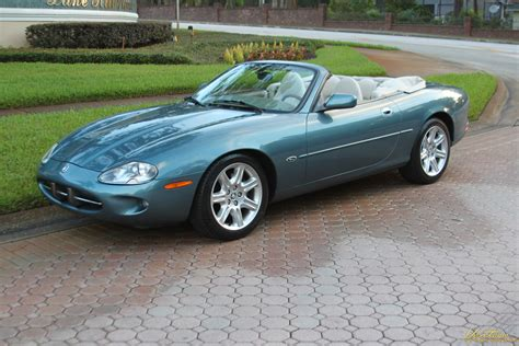 jaguar xk convertible rare color  mileage sold vantage sports cars vantage