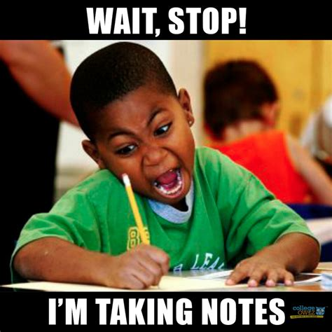 Notes Meme - 9 effective exam study tips teenage magazine