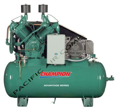 hp air compressor  cfm  gallon tank pacific air