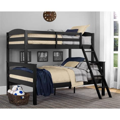full bed bunk bed acme furniture eclipse twin over full metal bunk bed 02091w gr the home depot