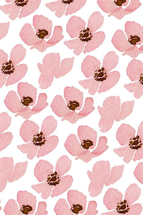 pattern flower pink 904 best wallpapers patterns images on pinterest wall