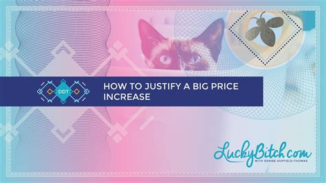 bid prices how to justify a big price increase