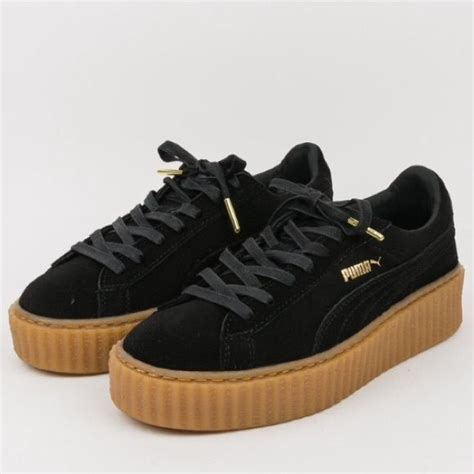 Premium Quality Fenty X Creepers By Rihanna Black Gum Sole 17 best images about fenty creepers on the photo rihanna and creative director