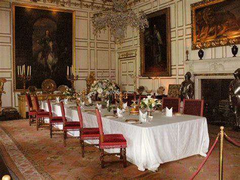 Castle Dining Room by Warwick Castle State Dining Room