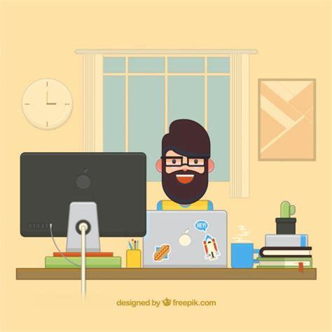 uso gratuito appartamento appartamento scrivania graphic designer scaricare