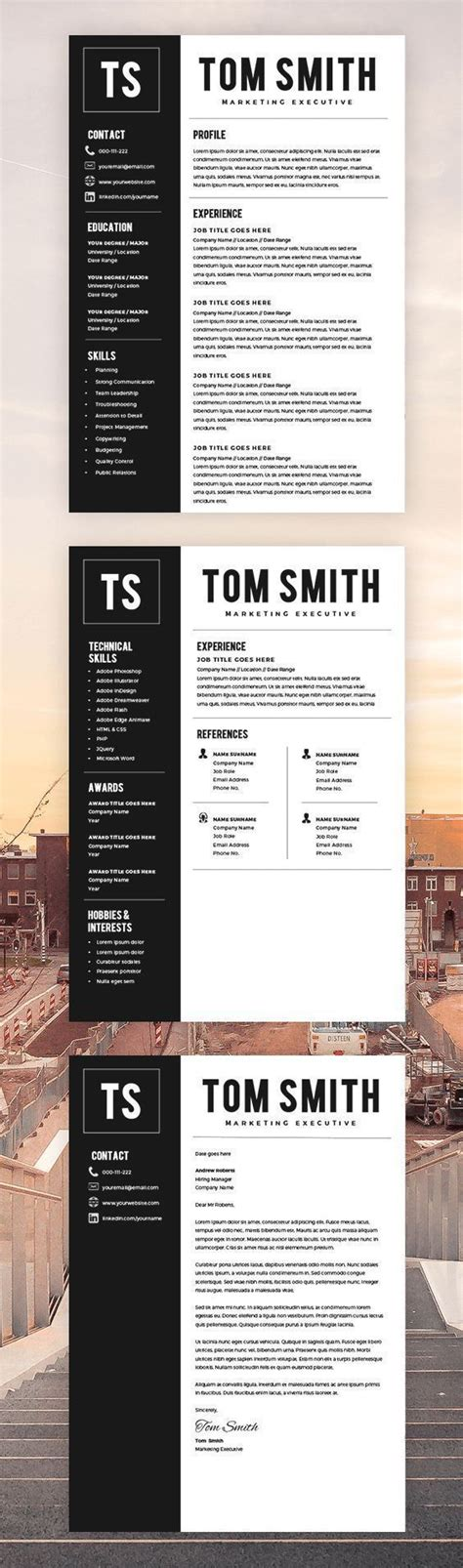 page resume template resume builder cv template