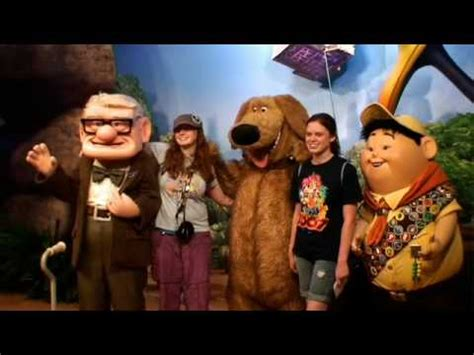 up film on youtube meet and greet with characters from disney pixar s movie