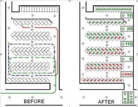 Most Efficient Floor Plans free parking lot layout template mapo house and cafeteria