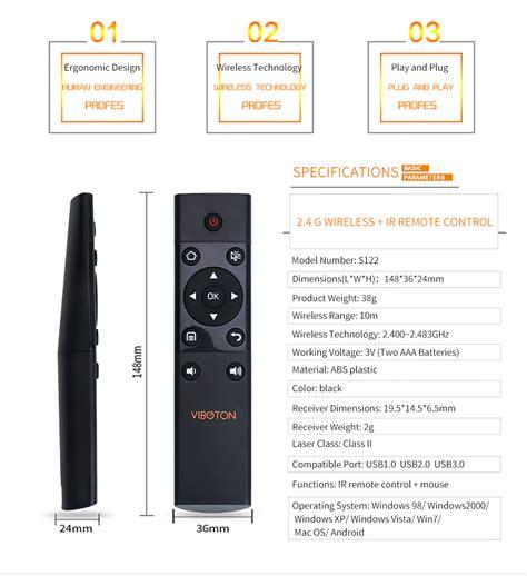 Portable Meeting Wireless Toatif 15 X2 Lengkap viboton s122 wireless air mouse remote
