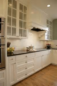 white kitchen cabinets with glass tile backsplash impressive subway tile backsplashin kitchen traditional with attractive white dove cabinets next