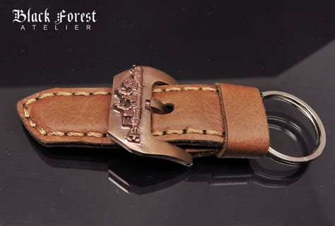 Panerai Torpedo Black Yellow Brown custom leather bands blackforest atelier