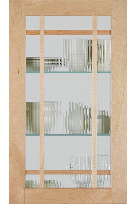 Mullion Cabinet Doors Shaker Mullion Cabinet Door With Reeded Glass Homecrest