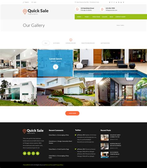 Html Themes For Sale | quick sale real estate html theme by themerex themeforest