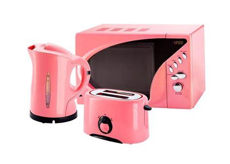 pink microwave toaster  kettle set  wwwpink princesscouk pink  pink