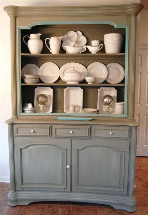 Painted Hutch Ideas ton e s of ideas to paint your furniture apartment geeks