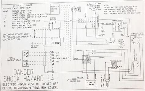 mobile home coleman electric furnace wiring diagram 3500
