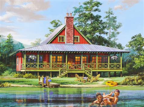 riverfront house plans waterfront house plans waterfront home plan provides relaxation on the riverbank