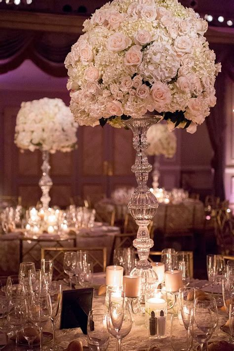 tall formal crystal centerpieces http www