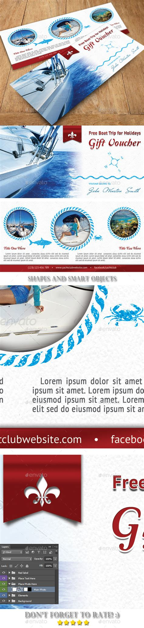 powerpoint templates yacht club yacht club voucher template 04 graphicriver