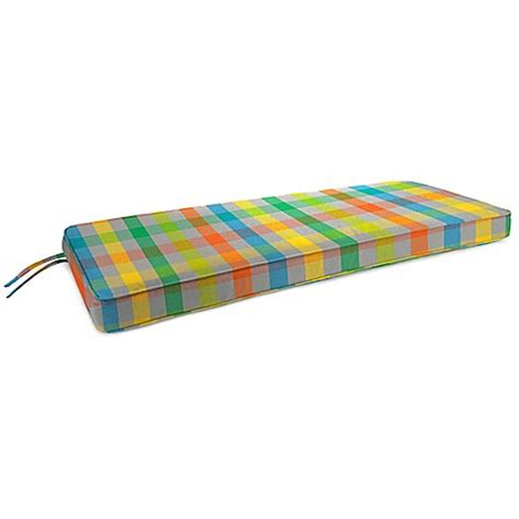 bench cushion 48 x 18 18 inch x 48 inch 2 person bench cushion in sunbrella
