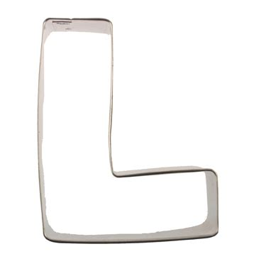 l cookies letter l cookie cutter acc 1586 country kitchen sweetart