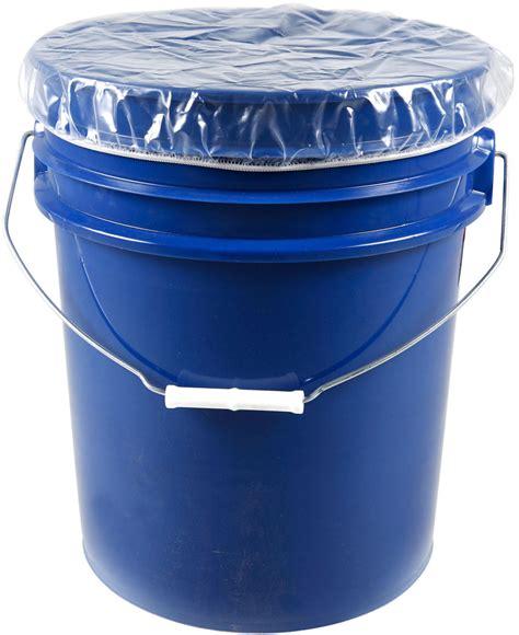 Pail 1 5 Gallons 5 gallon pail cover dust caps elastic 4 mil