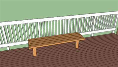 decking bench seat deck bench plans free howtospecialist how to build