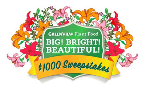 10 News 1000 Giveaway - greenview big bright beautiful plants 1 000 cash sweepstakes