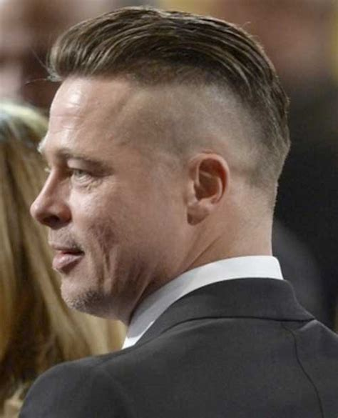 Brad Pitt Hairstyle by 10 New Back Hairstyles For Mens Hairstyles 2018