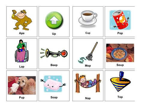 clear speech therapy p words