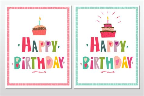 cool birthday card templates 17 cool greeting card templates for birthday design freebies