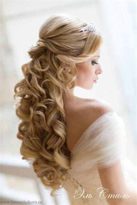 curly hairstyles hair up half up half down curly hair wedding hair and makeup